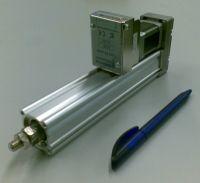 Lineární jednotka SMC LEY16 s mikro servopohonem Reliance CoolMuscle